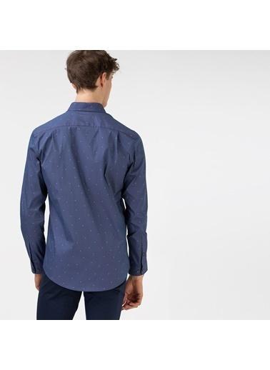 Lacoste Erkek Slim Fit Gömlek CH0175.75L Lacivert